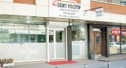 Dent Pozitif Dis Klinigi kcekmece
